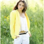 YELLOW BLAZER MY FAVORTIE4